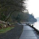 Waterfront trail to Owen Beach