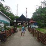 Main entrance of Pulau Ubin