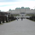 Vista a partir da parte de trás do Palácio.