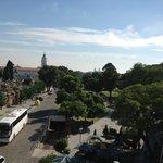 Vista da rua: Cemitério da Recoleta, onde mora Evita e Carlos Gardel
