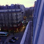 Room with a view onto Blvd. St. Michel