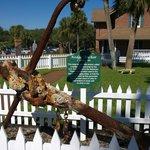 historic anchor