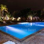 La piscine Bleu marine