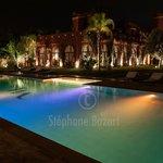 La piscine en Bleu Turquoise