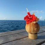 Welcome coconut juice