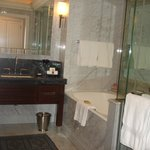 A five stars salle de bain at Room 2411 at the Four Seasons Hotel Istanbul at the Bosphorus