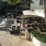 Pool Dining Area