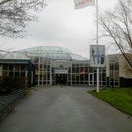 L'entrée du parc centre.