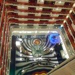 Esta é minha vista preferida do hotel, ao sair do quarto!