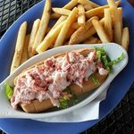 New England Lobster Roll Sandwich