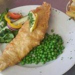 Fish Friday - Freshly beer battered haddock