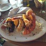 Lagosta - Restaurante na praia
