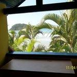 Vista do quarto para a praia