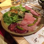 Fondue Savoyard salad
