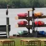 kayaks and canoeing