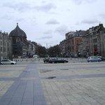 Plaza San Lamberto, Lieja, Bélgica.