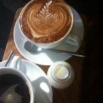 Coffee and sunshine ..perfect!