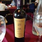 Delicioso vinho uruguaio da carta do Garcia.