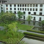Inner areas with ponds and gardens at The Sukhothai Bangkok Hotel