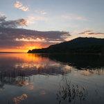Cerro Cahuí en el lago Petén Itza