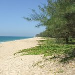 Mai Khao Beach goes for miles and is mostly deserted