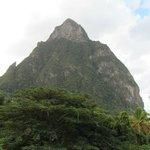 Petit Piton View from Jasmine Villa