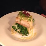 Pan roasted cod, crushed new potatoes, tenderstem broccoli & beurre blanc