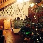Hotel lobby @ Christmas time :)