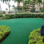 Putting green at Sands of Kahana