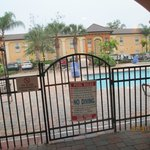 Nice heated pool and hot tub