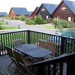 Sun terrace/ decking