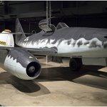 German WWII jet (Messerschmitt Me 262?)