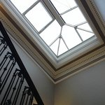 Top of the staircase, Georgian skylight