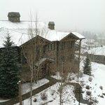 Snowing at Grand View