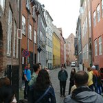 on tour in the streets of Copenhagen