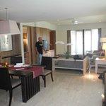 Living room from front door.