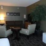 Suite with seating