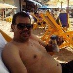 en la playa de los muertos a 100mts del amaca