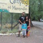acceso al camping