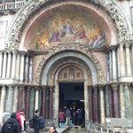 Entrada da Basílica de São Marcos