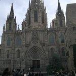 the katedral in barcelona spain