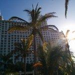 outside of resort
