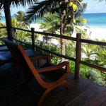 Porch view at Estrella