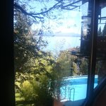 Vista desde sala desayuno.