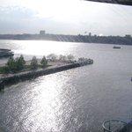 Vista al río Hudson