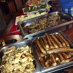 Barbeque buffet