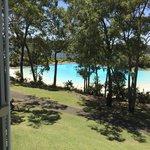 View of beautiful lagoon pool