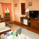 Living room of 1 bedroom bungalow
