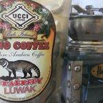 their own brand coffee in Uno Bali Inn