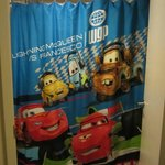 Room 814 - Cars themed Shower Curtain
